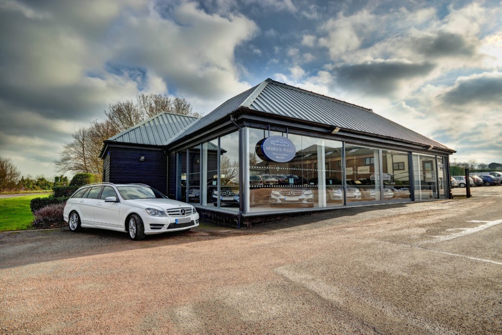 Derrick Wells Showroom - Mercedes-Benz Specialist in Needham Market